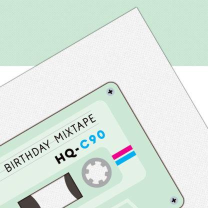 verjaardagskaart cassette