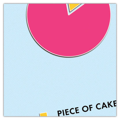 piece of cake verjaardagskaart