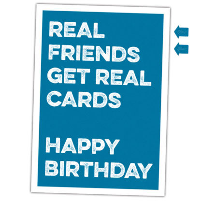 real friends get real cards